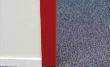 Teppich Büroboden